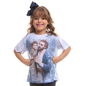 Camiseta Infantil São José DV9113 2