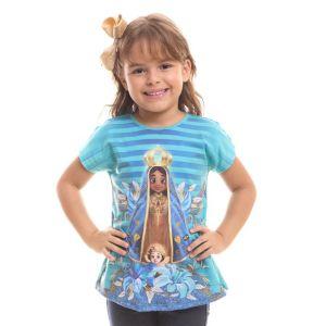 Blusa Infantil Nossa Senhora Aparecida DV8021 2