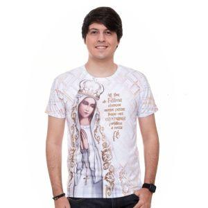 Camiseta Nossa Senhora de Fátima DV9228 P