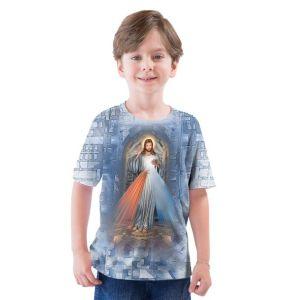 Camiseta Infantil Jesus Misericordioso DV9377 2