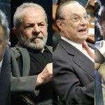 Justiça dá as cartas em semana decisiva para Aécio, Maluf, Lula e Dirceu
