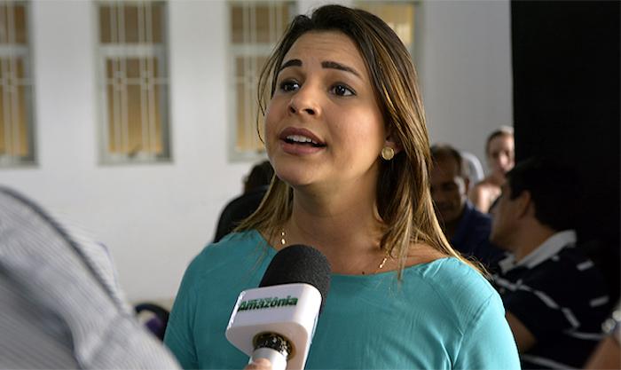 """Resultado de imagem para """"Se eu fosse depender de Porto Velho, teria perdido a eleição"""", diz Mariana ao destinar recursos para o interior"""