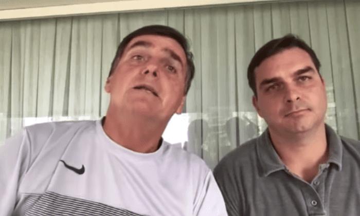 'Eu não quero essa porcaria de foro privilegiado', disse Bolsonaro ao lado de Flávio em 2017; assista