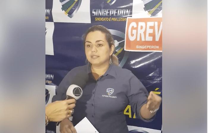 Marcos Rocha pediu afastamento da presidente do SINGEPERON