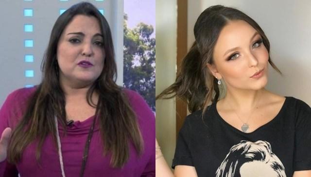 Fabíola Reipert é condenada a pagar indenização a Larissa Manoela após insinuar que atriz estaria grávida