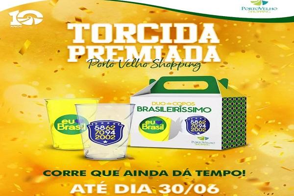 Porto Velho Shopping entra em clima de Copa
