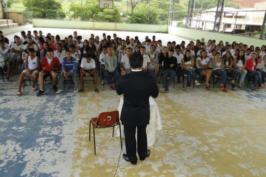 "Polícia Civil inicia projeto ""Pacificando a Escola"""