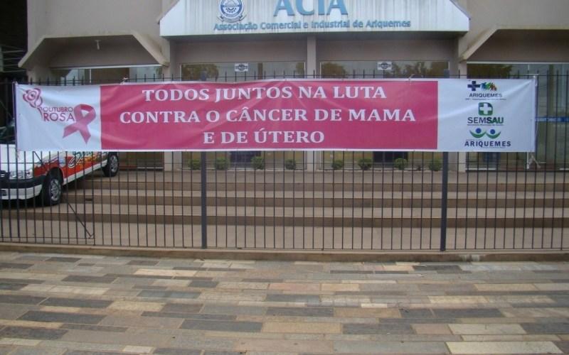 Unidade móvel do Hospital do Câncer atende em Ariquemes