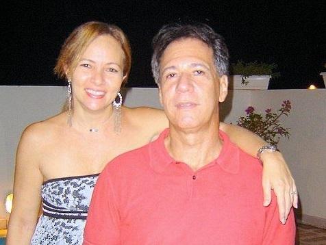 Alcina Moura Atalah e o marido, Ayres Amaral