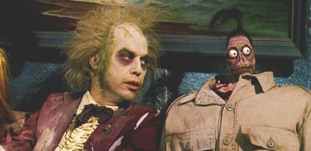 """""""Os Fantasmas se Divertem"""" deve ganhar continuação com Burton e Keaton"""