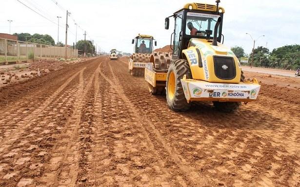 Obras na Rua da Beira modifica o tráfego