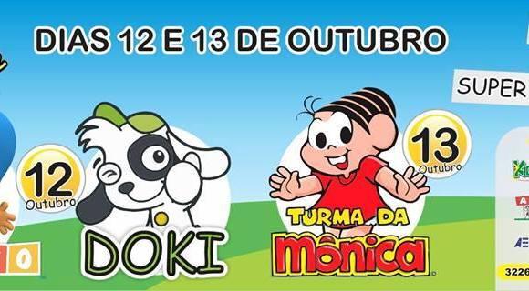 Shows infantis animam Dias das Crianças em Porto Velho