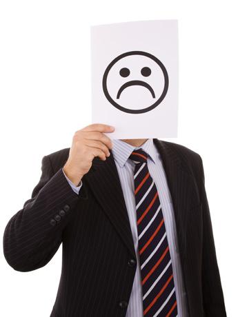 Infelicidade no trabalho pode estar ligada a vários fatores