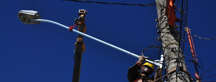 Prefeitura intensifica recuperação de iluminação pública