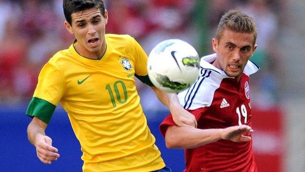 Pato e Lucas decepcionam, mas Brasil vence a Zâmbia