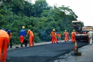 Restauração da BR-364 gera longos congestionamentos