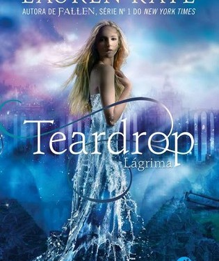 "Sai capa nacional do livro ""Teardrop"" de Lauren Kate"