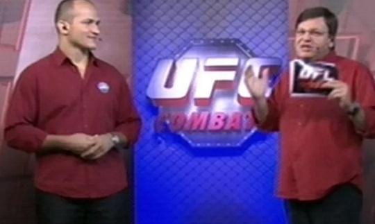 Após surra, Cigano reaparece como comentarista do UFC