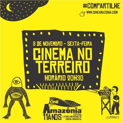 Festcineamazônia apresenta hoje cinema no Terreiro
