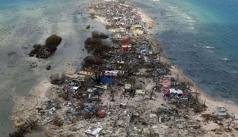 Presidente das Filipinas declara estado de calamidade em todo país