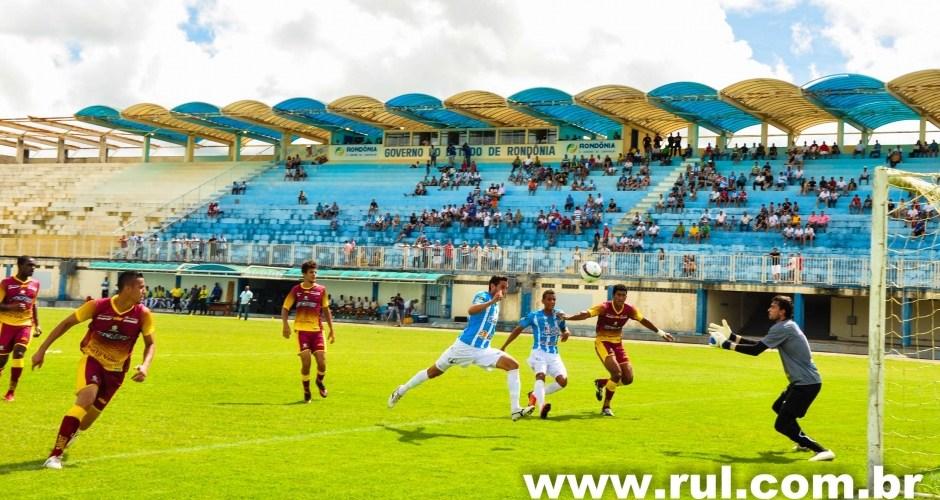 Ji-Paraná vence Genus por 2×0 na estréia do Campeonato Estadual