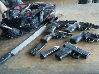 Armas estão sendo catalogadas