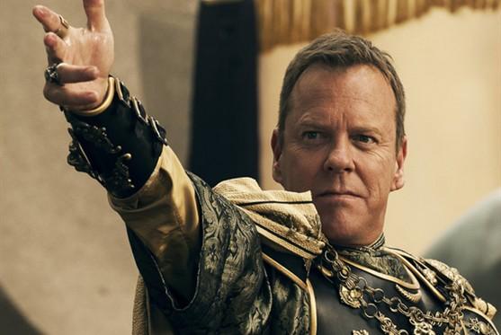 Kiefer Sutherland fala de seu vilão em 'Pompeia'
