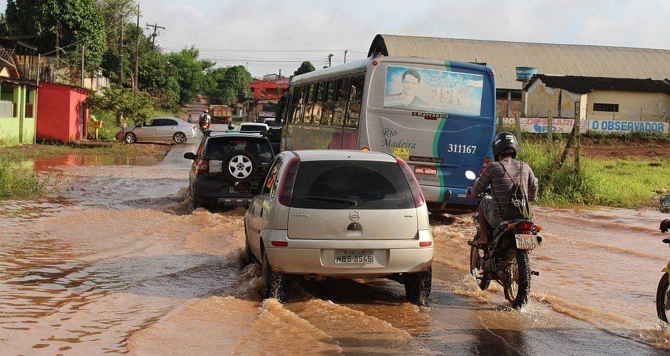 Moradores do Areal sentem efeitos da enchente do Rio Madeira