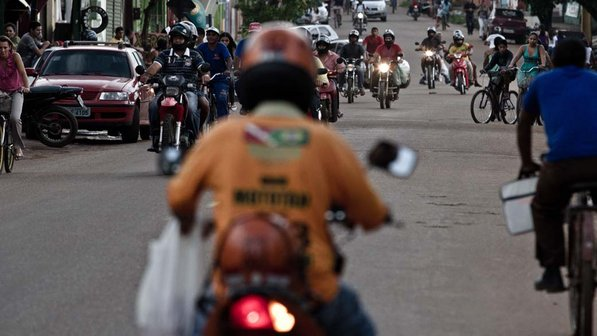 Ouro Preto tem, proporcionamente, a 9ª maior frota de motos do Brasil