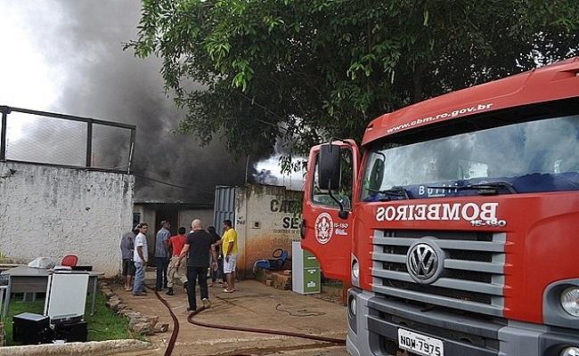 Detento do regime semiaberto ateia fogo em Albergue