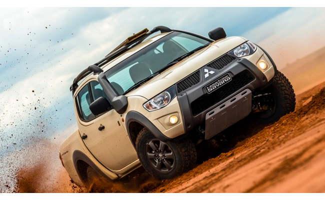 Mitsubishi lança série especial da L200 Triton Savana