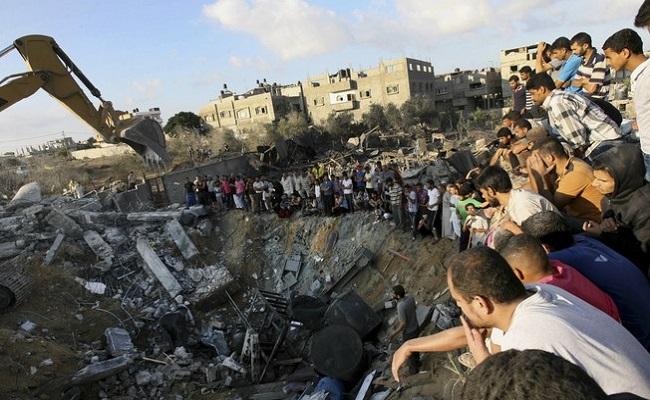Gaza tem 110 mortos em 24 horas em um dos piores bombardeios