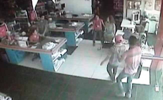 Polícia procura dupla que barbarizou em loja na região central da capital