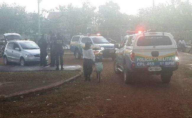 Polícia realiza operação no santo antônio