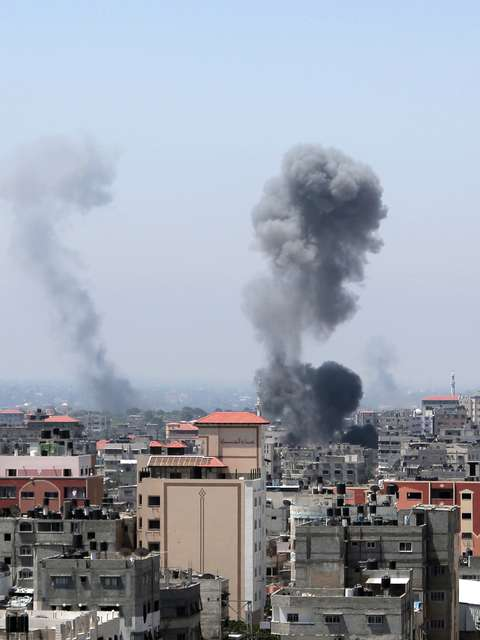 Bombardeios israelenses em Gaza deixam ao menos 30 feridos