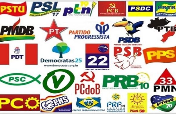 30 partidos brasileiros já custaram R$ 9,4 bi aos cofres públicos