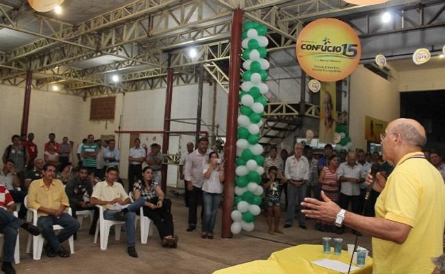 Confúcio abre campanha em Rolim e reafirma parceria com municípios