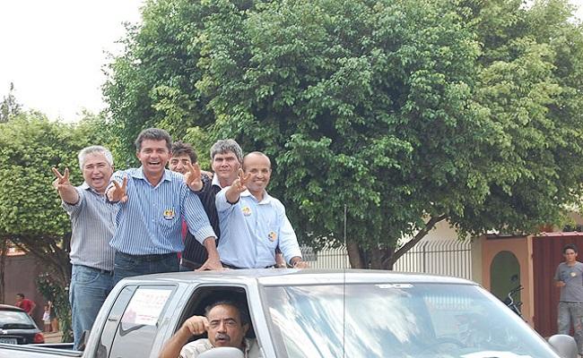 Expedito Junior realiza primeira carreata em Porto Velho