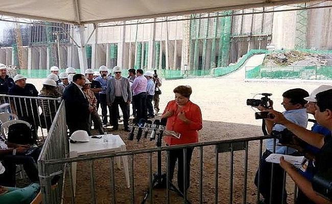 Dilma vem a Rondônia e fala com Imprensa