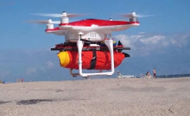 Este drone pode te salvar de um afogamento