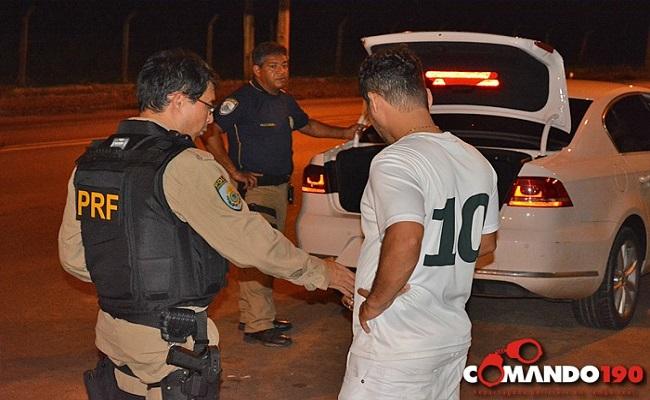 Em Ji-Paraná, PRF apreende mais um carro clonado e prende suspeito