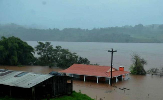Governo reconhece situação de emergência em municípios do Rio Grande do Sul