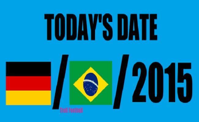 No dia 7/1, página faz piada com placar de Brasil x Alemanha