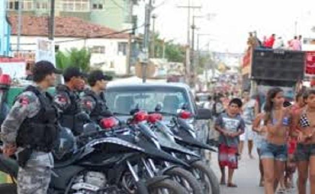 PM inicia policiamento para carnaval