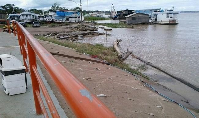 Atividades permanecem dentro da normalidade no Terminal Hidroviário de Porto Velho