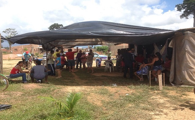 Famílias entram em conflito por causa de terra em Porto Velho
