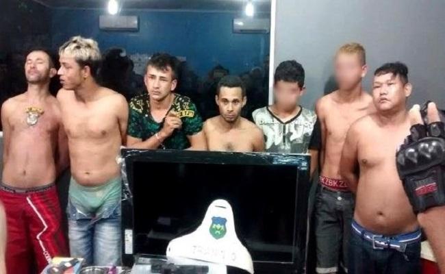 Bando acusado de assaltar e barbarizar casa de cabo da PM é preso na zona Sul