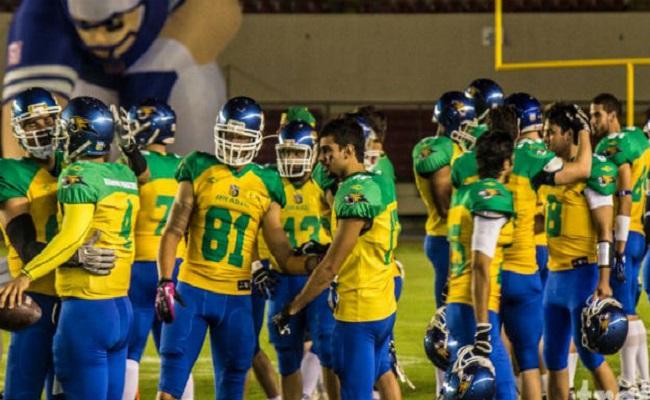 Seleção brasileira de futebol americano garante vaga inédita para o Mundial