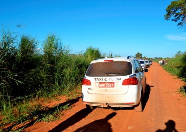 Em Vilhena, taxista é emboscado, leva 14 facadas e sobrevive