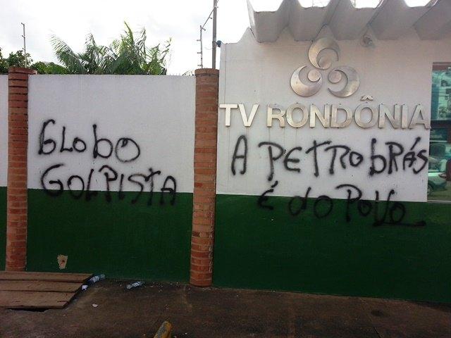 TV Rondônia Pichada